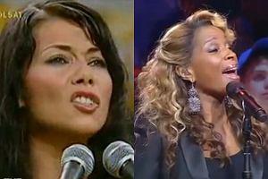 Edyta Górniak i Mary J. Blige źle zaśpiewały hymny narodowe.