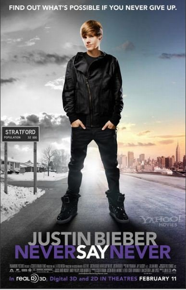 justin bieber, never say never