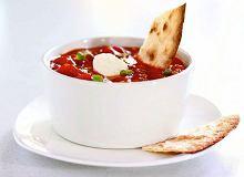 Meksykańska zupa pomidorowa - ugotuj