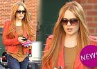 Lindsay Lohan znowu ruda! Koniec z blondem w stylu Monroe?