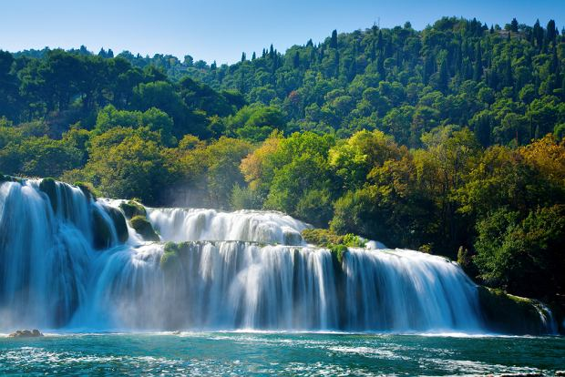 Chorwacja Krka - dzieła natury