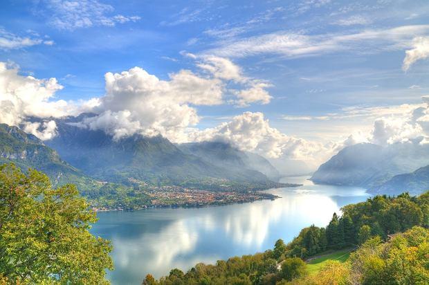 W�ochy jeziora - u podn�a Alp