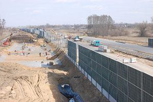 Ekrany zasłonią połowę autostrady. 87 km ściany!