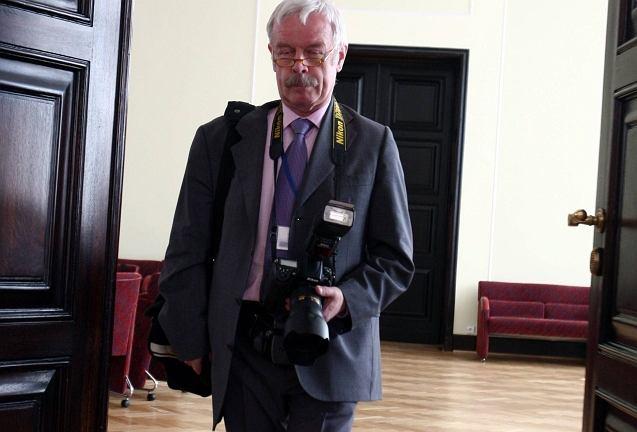 Grzegorz Rogiński, wieloletni fotograf w kancelarii premiera