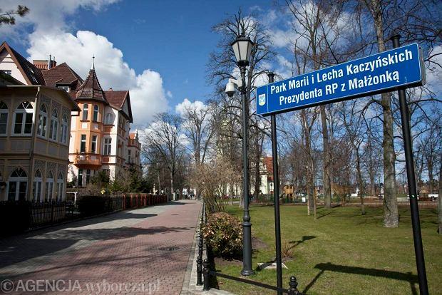 Park Marii i Lecha Kaczyńskich w Sopocie