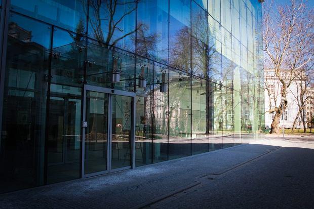 Budynek nowego wydziału Matematyki i Nauk Informacyjnych