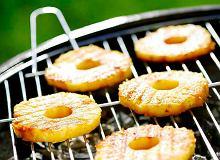 Ananasy z grilla - ugotuj