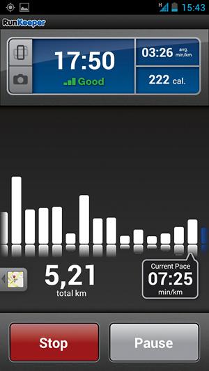 aplikacja, jogging, bieganie,rowery, RunKeeper