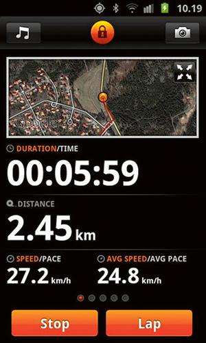aplikacja, jogging, bieganie,rowery, Sports Tracker