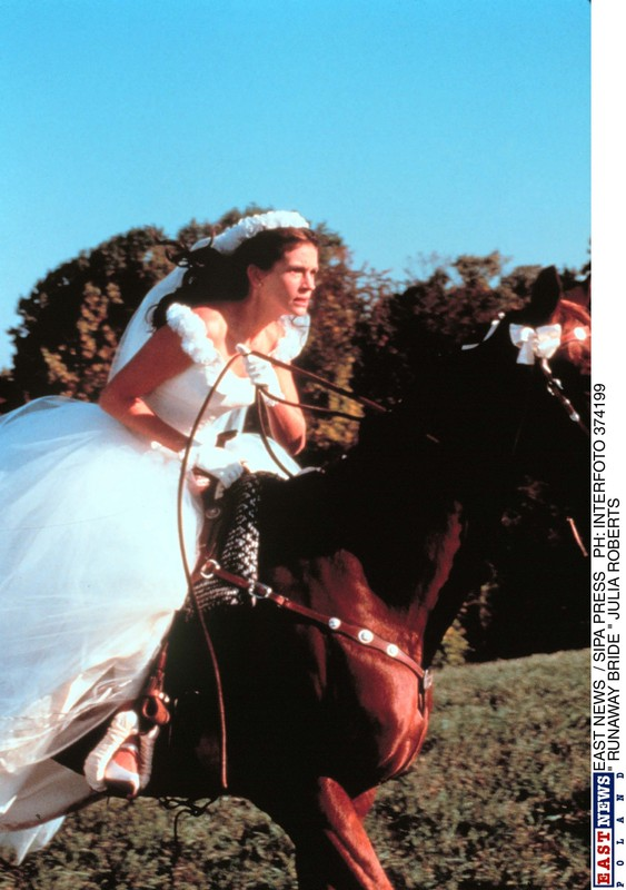 "PHOTO: EAST NEWS/SIPA PRESS  ""RUNAWAY BRIDE"" JULIA ROBERTS."