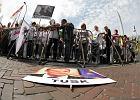 Awantura w centrum. Zwi�zkowcy blokowali budynek Sejmu