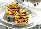 Lazania z francuskich tost�w z bananami i orzechami w syropie