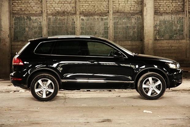 VW Touareg   Pierwsza jazda -