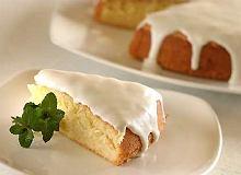 Ciasto migda�owe z polew� kokosow� - ugotuj