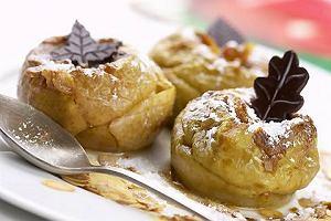 Rozgrzewaj�ce menu dnia z pieczonymi jab�kami na deser
