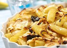 Zapiekanka z makaronu i jab�ek - ugotuj