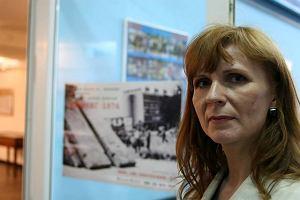 Ukraina. Ma�gorzata Gosiewska chce spa� w�r�d manifestant�w w Kijowie