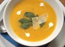 Zupa-krem z dyni na rosołku warzywnym - ugotuj