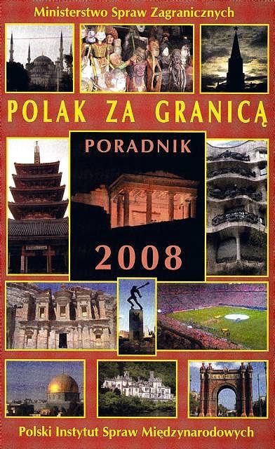 """Polak za granicą 2008"" - poradnik MSZ"