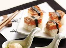 Sushi z pieczonym �ososiem - ugotuj