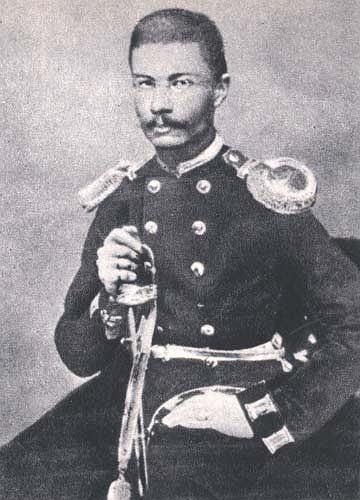 Romuald Traugutt w mundurze armii rosyjskiej