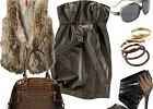 Sukienka Pull and Bear z imitacji skóry - jak to nosić?