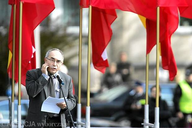 Aleksander Smolar, prezes fundacji imienia Stefana Batorego