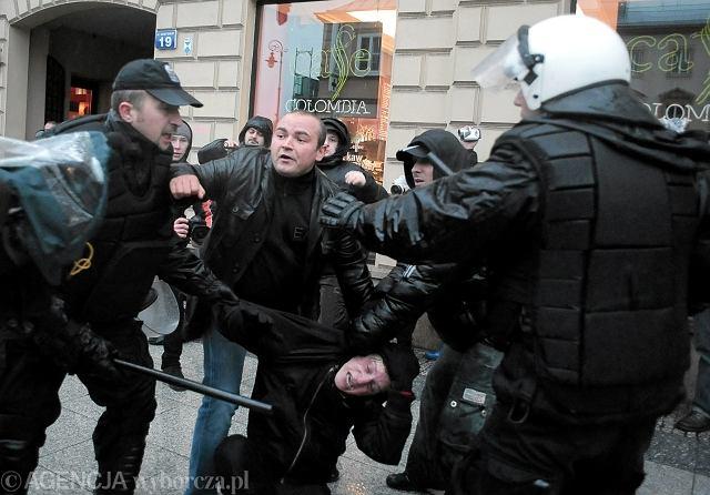 11 listopada w Warszawie: policja zatrzymuje anarchistów