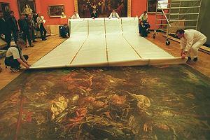 400 kg Grunwaldu, czyli s�ynny obraz Jana Matejki od podszewki