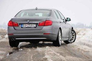 BMW 5 - test | Pierwsza jazda