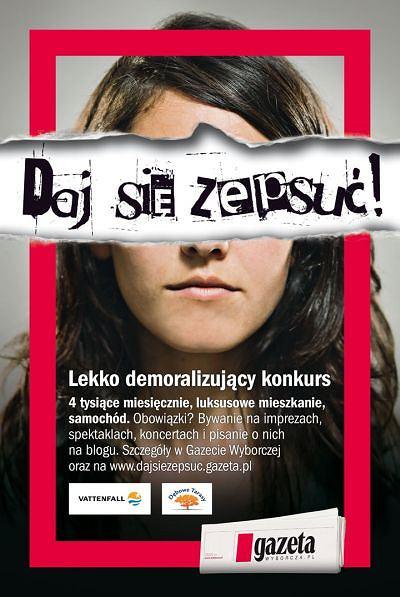 """""""Daj si� zepsu�"""" - konkurs i akcja """"Gazety Wyborczej Katowice"""""""