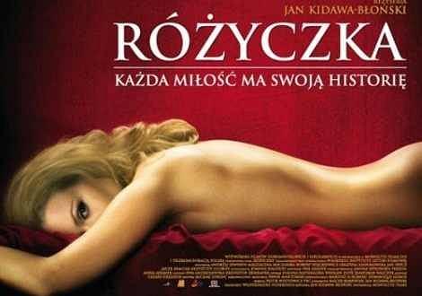 Plakat z film ''Różyczka''