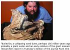 �y� na Ziemi 185 mln lat temu. Teraz odkryto jego szcz�tki