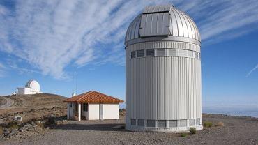Teleskop, za pomocą którego polscy astronomowie dokonali odkrycia