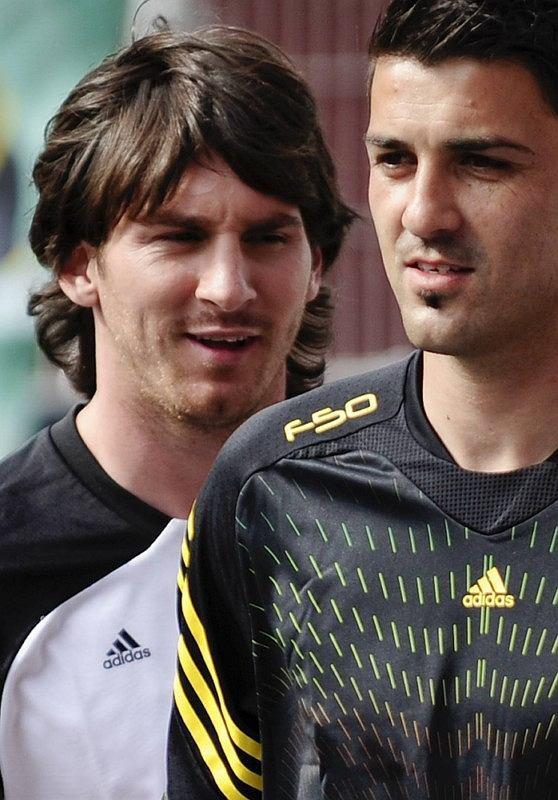 Zdjęcie numer 1 w galerii - Messi i Villa razem ku promocji