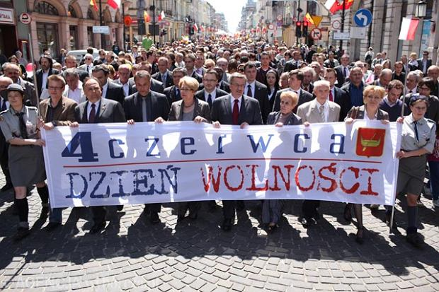 Wielkie obchody czerwca '89. Imprezy w całej Polsce, w Warszawie marsz KOD [CO SIĘ BĘDZIE DZIAŁO?]