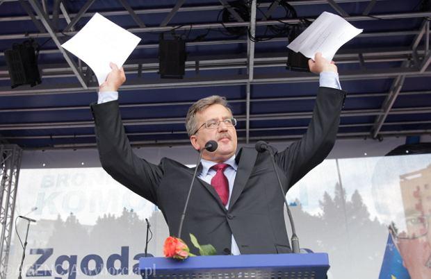 Prezydent Bronis�aw Komorowski