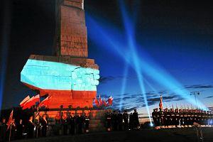 Zniszczono krzy� Virtuti Militari przy pomniku na Westerplatte
