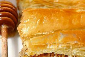 Ciasto filo przek�adane orzechami (Baklava)