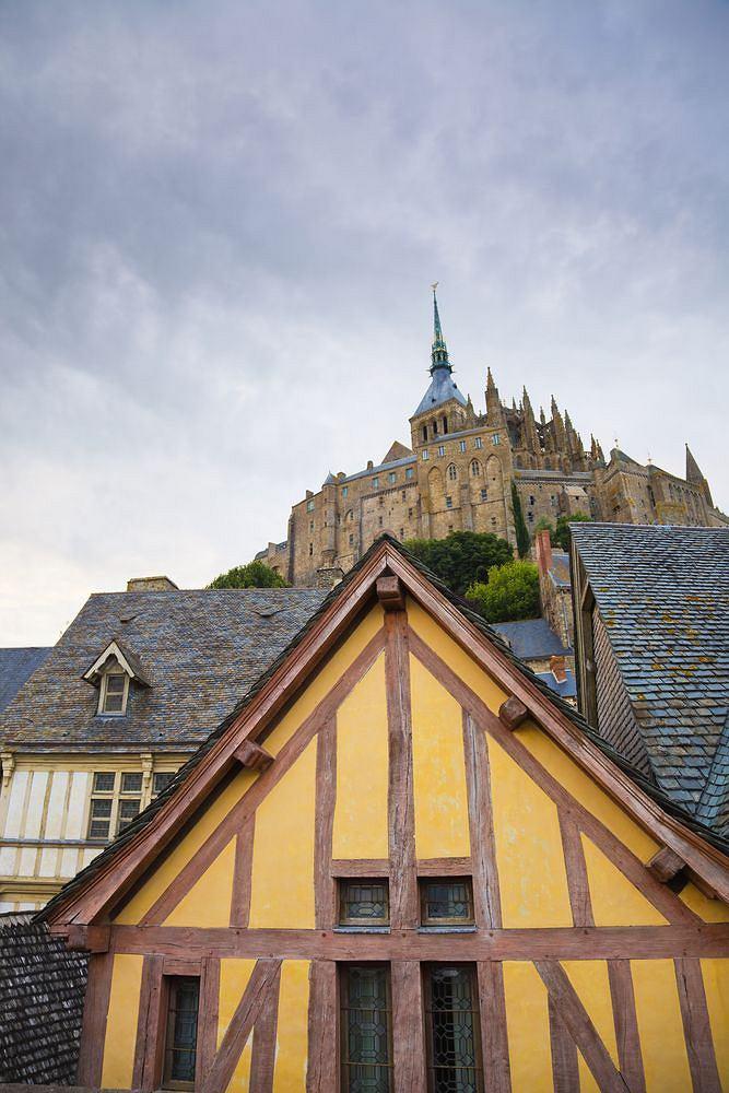 Zdjęcie numer 3 w galerii - Cuda świata. Francja. Mont Saint Michel - klasztor na wodzie