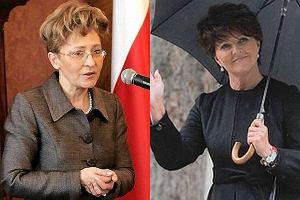 El�bieta Radziszewska i Jolanta Kwa�niewska