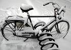 Zima na rowerze