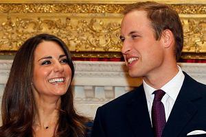 Książę William i Kate Middleton ogłaszają swoje zaręczyny. Londyn, 16 listopada 2010