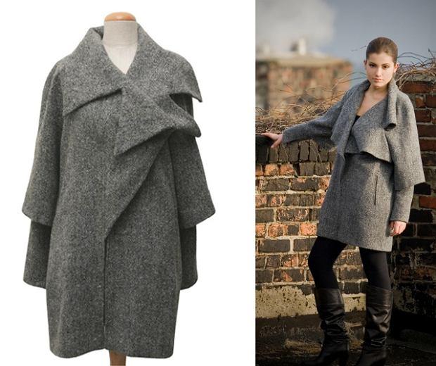 płaszcz z kolekcji zima 2010, Kasia N