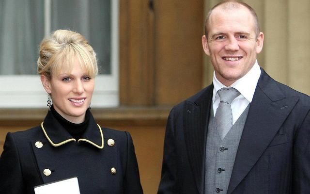 Zara Phillips i Mike Tindall