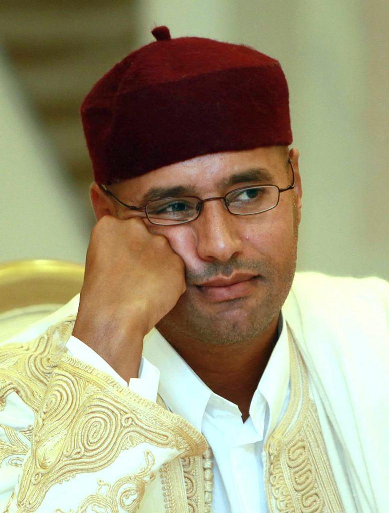 Seif Kaddafi (zdjęcie z 2010 r.)