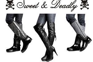 Przej�ciowe obuwie Sweet & DeadlyShoes