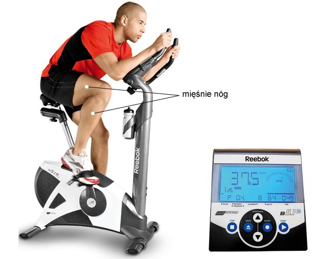 rowery, siłownia, fitness, Reebok