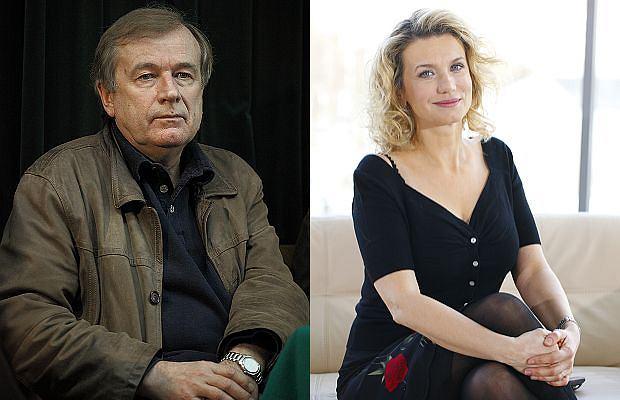 Janusz Anderman i Joanna Trzepiecińska
