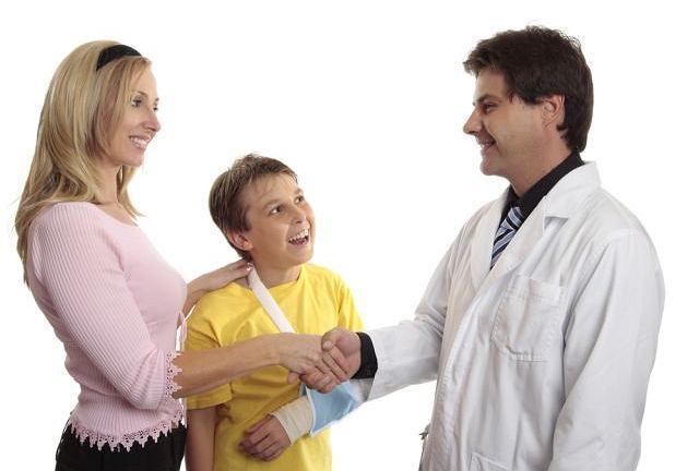 Do gabinetu ortopedy często trafiają dzieci
